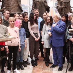 Мастер-класс «Лепка скульптурного портрета - от академической скульптуры к произведению искусства» в МВК РАХ