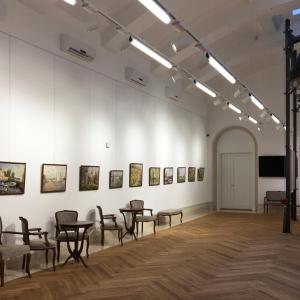 Выставка произведений В.Леднева в «Русском доме» Белграде