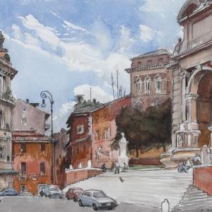 Выставка произведений Виктора Цигаля.К 100-летию со дня рождения художника.