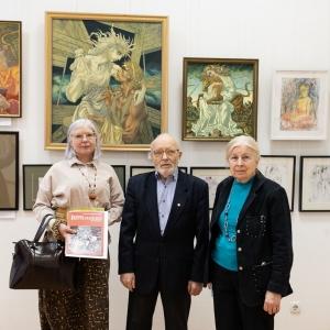 Члены РАХ приняли участие в ежегодной выставке подсекции «Эстамп» МСХ на Кузнецком мосту,20
