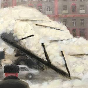 Е.Корнилова. Убока снега.