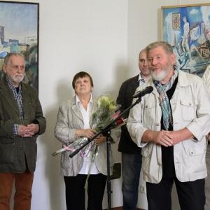 «Вместе». Выставка произведений Олега Осина и Людмилы Воловой.