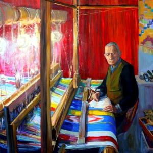 Выставка «С мольбертом по земному шару» в «Лаврушинском, 15»