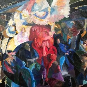 1-12 ноября 2018. Выставка произведений династии художников Соколовых в Париже. А.В.Соколова.