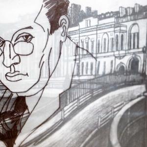 «Петербург. Роман с городом».  Выставка произведений Бориса Мессерера в МВК РАХ