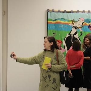 20 февраля – 17 марта 2019 года. Выставка произведений Нины Буденной в МВК РАХ. Декоративное искусство.