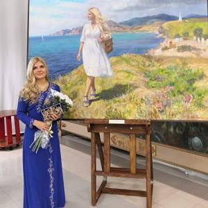 «С мольбертом по земному шару». Выставка Полины Илюшкиной в Санкт-Петербурге