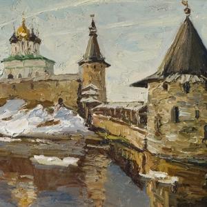 «В краю крестов и широты привальной…». Выставка произведений Николая Давыдова.