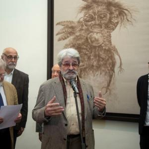 Выставка «Даши Намдаков. Трансформация» в Российской академии художеств