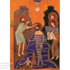 «Познание добра». Выставка произведений З.К. Церетели в Санкт-Петербурге. Эмаль, скульптура.