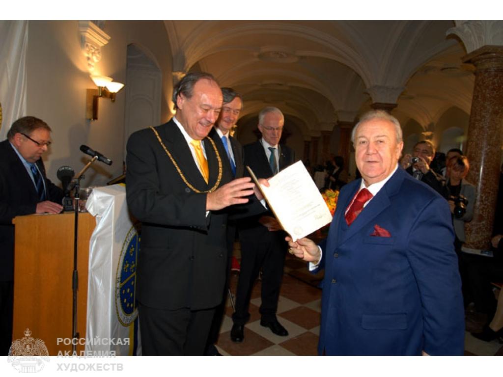 Член европейской академии