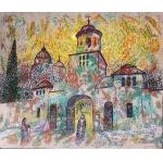А.Шинкарчук. Монастырь. Бессарабия